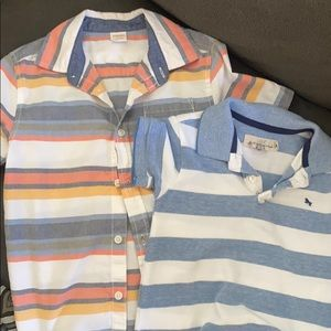 Two Collared Boys Shirts